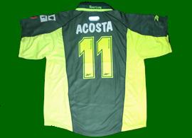 2000/01. Equipamento alternativo personalizado Acosta nº 11, Sporting