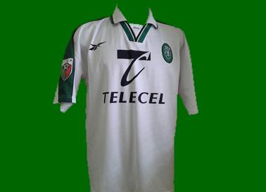 camisola alternativa branca matchworn 1998 1999 Beto leão