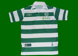 2005/06. Special Edition nº 23/1000. Personalised. One century of Sporting