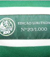 2005/06. Special Edition nº 23/1000. Personalised