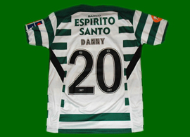 camisola do Danny (Russia) do Sporting de 2004 2005