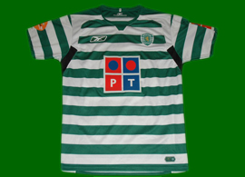 Match worn jersey of Danny (Russia) while still in Sporting Lisbon