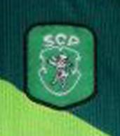 Match worn Sportin Lisbon away kit 1999 2000 Delfim lion