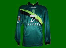Sporting Clube de POrtugal match worn soccer jersey 1999 2000 Delfim player