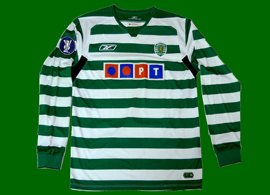 Worn by Douala, in match Middlesbrough - Sporting UEFA Cup 2004/05