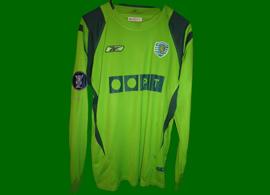 camisola de jogo do Sporting Enakarhire Nigeria 04 05