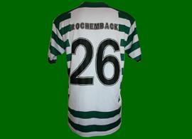equipamento usado por Fábio Rochemback num jogo da Taça UEFA Sporting 2004/05