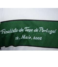 2001/02. Camisola de Futebol Adidas, usada em jogo por Marius Niculae na Final da Taça de Portugal
