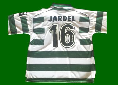 2001/02. Camisola autografada por Mário Jardel
