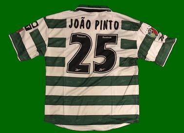 Sporting Camisola de futebol personalizada João Pinto, não é de jogo