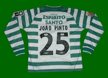 Camisola do João Pinto de mangas compridas