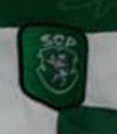 Camisola preparada para Marco Almeida 1999 2000 Sporting, para a final da Taça de Portugal 1999/00
