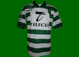 jersey prepared for Marco Almeida, for the Portugal Cup 1999/00