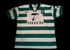 camisola do Marco Caneira de 1998/99: 100% certa, de jogo amigável
