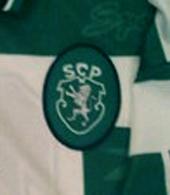 Sporting Lisbon 1998/99 Jersey match worn by Caneira