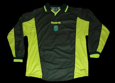equipamento do Sporting do futebolista Nauzet, equipa B