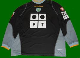2002/03. Camisola de guarda-redes do Nelson Pereira, usada em jogo