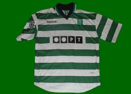 equipamento de futebol de jogo do Phil Babb Liga dos Campeões 2000/01