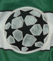 Camisola de futebol de jogo do Babb Liga dos Campeões 2000/01