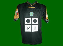Equipamento de jogo alternativo de jogo do Ricardo Fernandes Sporting 2002/03