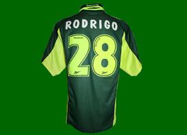Equipamento de jogo do Rodrigo Fabri, Sporting 2000/01