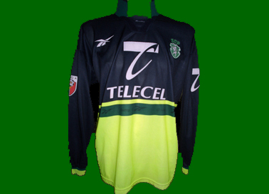 Sporting away soccer jersey prepared for Rui Jorge