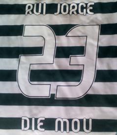 2014/15, shirt personalised Rui Jorge / die mou