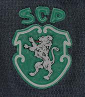 Equipamento alternativo do Sporting azul e amarelo 1998 99