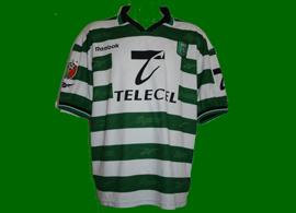 Equipamento Sporting Portogallo Acosta campeão 1999 2000