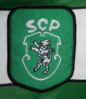 Sporting Champions League Dimas 2000 2001 Reebok logo
