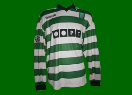 Sporting Champions League Dimas 2000 2001 Reebok