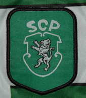 camisa oficial do SCP Edmilson 2000/01