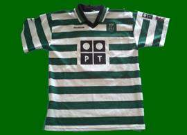 camisola sporting clube de portugal personalizada 2000 2001