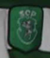camisola do Sporting Ricardo Sá Pinto coração de leão 2000/01