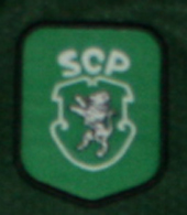 camisola alternativa de jogo André Cruz 2000 2001 Sporting logo