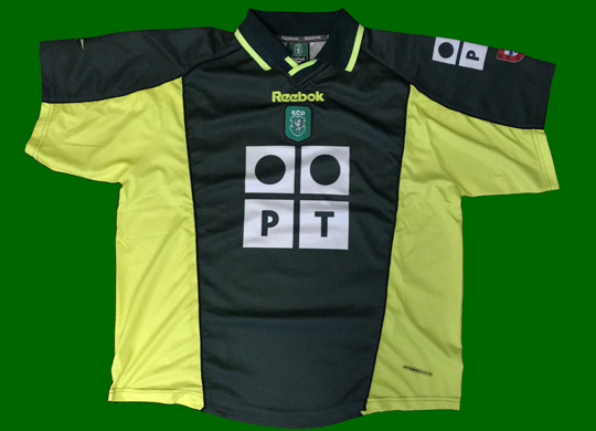 camisola Sporting Lisbon alternative shirt 2000 2001