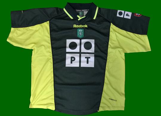 Sporting Lisbon away jersey football