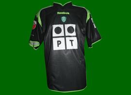 terceira camisola André Cruz Sporting 2001/02