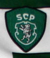 match worn shirt Sporting Lisbon 2001 2002