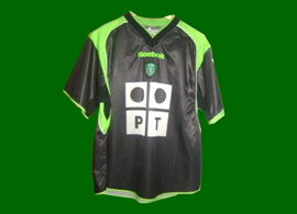 Sporting de Lisboa away kit 01/02