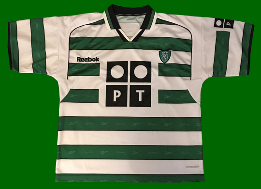 Sporting Portugal home shirt 2001 2002