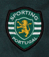 Sporting camisola Stromp 2001 2002 emblema do clube