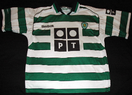 Sporting Lisbon Portugal Reebok 2001 2002 National Champion
