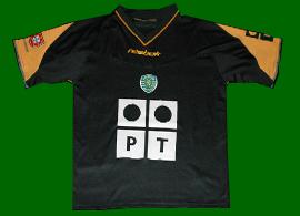 Sporting de Lisboa away shirt
