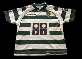 Sporting Portugal camisola Reebok 2002 2003