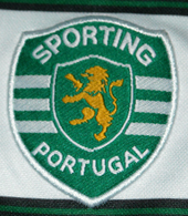 Sporting Lisboa home jersey 2002 adult