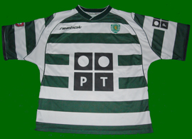 Sporting Lisboa adult home shirt