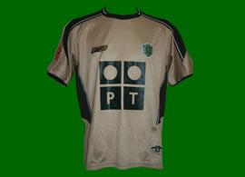 terceira camisola Sporting Rui Jorge 2003/04