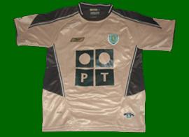 Sporting Lisbonne 3èmme maillot 2003 2004