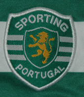 Sporting Lisbon Portugal signed shirt Liedeson 2003 2004